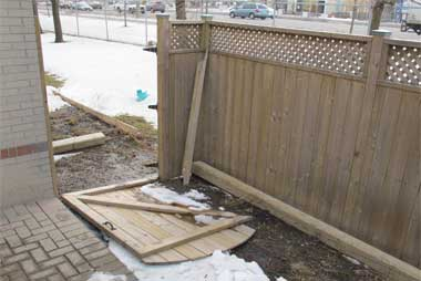 Need fence repaired